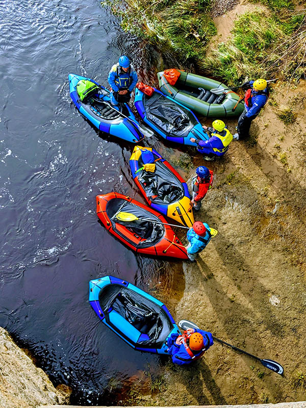 Packrafting Whitewater Essentials