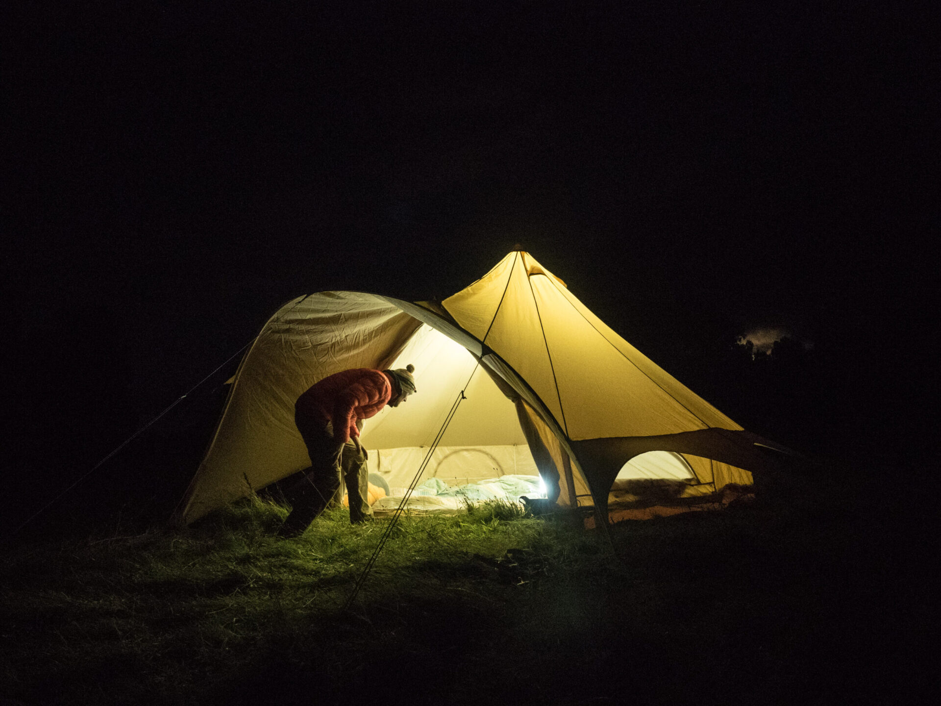 Backcountry basecamp